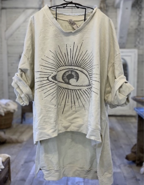 eye of providence pullover magnolia pearl