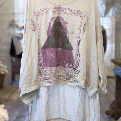 Sufi Francis Pullover Tee Magnolia Pearl
