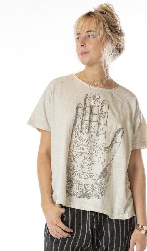 Jersey Palmistry T Magnolia Pearl