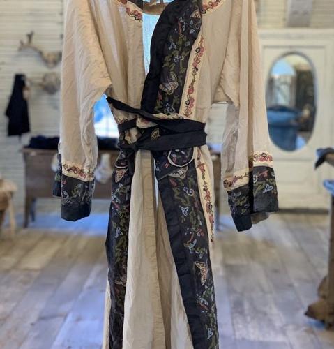Miggy Oriental Coat Moonlight