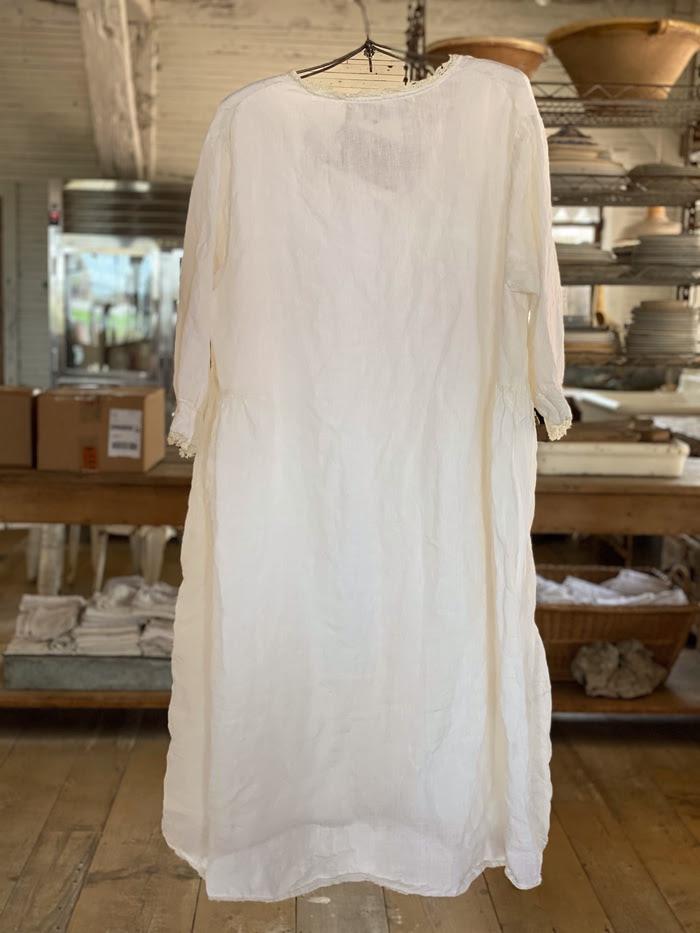 Linen Eathelyn Dress Magnolia Pearl