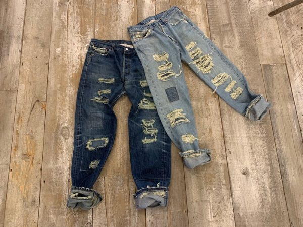 Reworked 501 Denims
