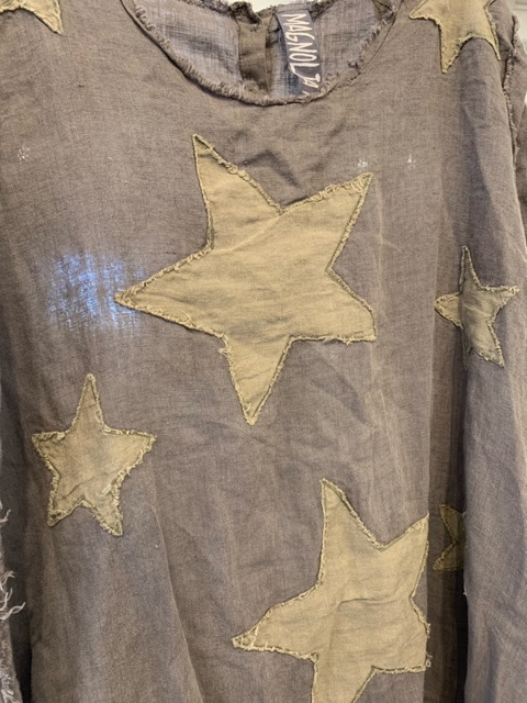 Star Applique Dress