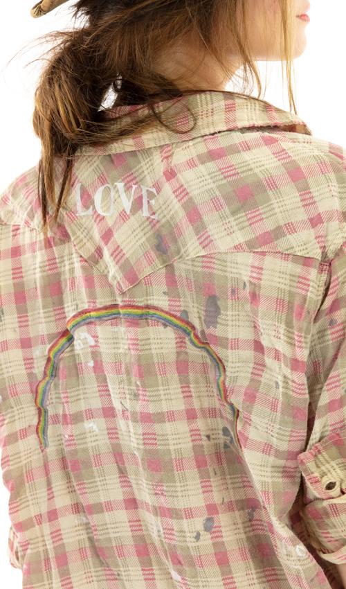 Kelly Western Shirt Magnolia Pearl