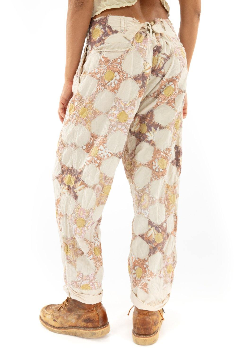 Quiltwork Charmie Trousers Magnolia Pearl